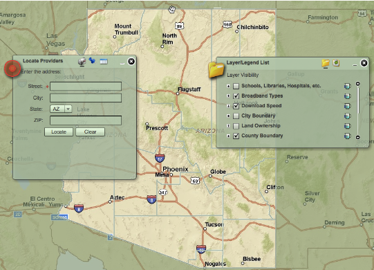 Dsl Coverage Map on
