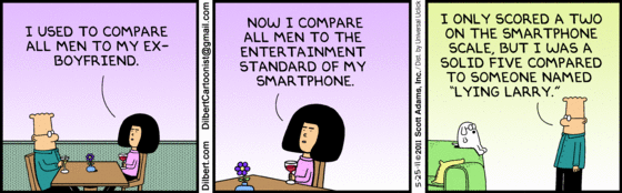 Dilbert and Smartphones
