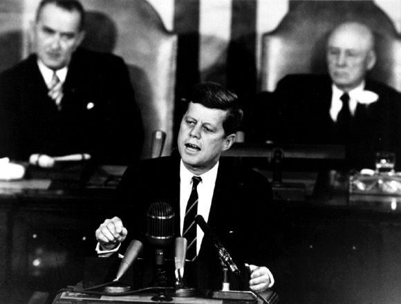 Kennedy moon speech 1961
