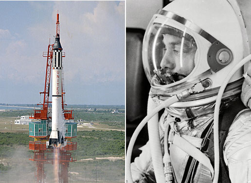 Alan Shepard, Mercury-Redstone Rocket